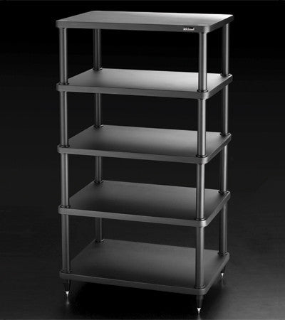 SolidSteel S3-5 Five-shelf Modular Rack - Alma Music and Audio - San Diego, California