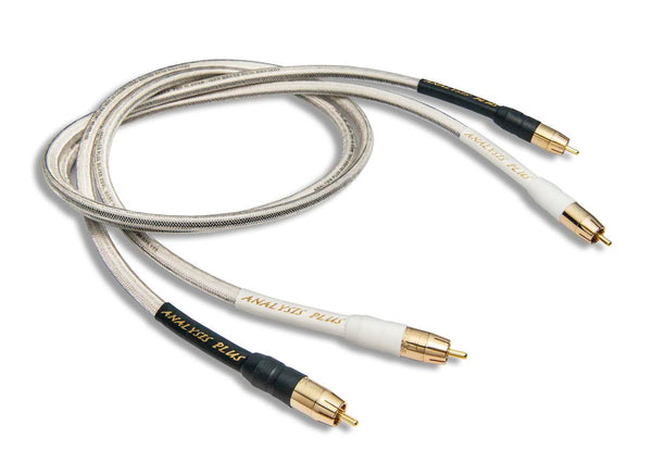 Analysis Plus Silver Oval-In Interconnect Cables - Alma Music and Audio - San Diego, California