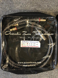 Acoustic Zen Absolute Silver XLR Cable [1 meter] [Previously Owned]