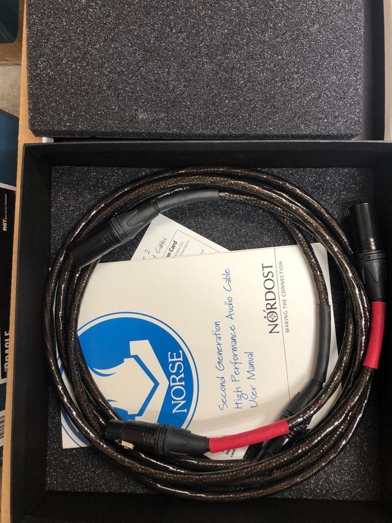 Nordost Tyr II XLR Cable [1.5 meters] [Previously Owned]