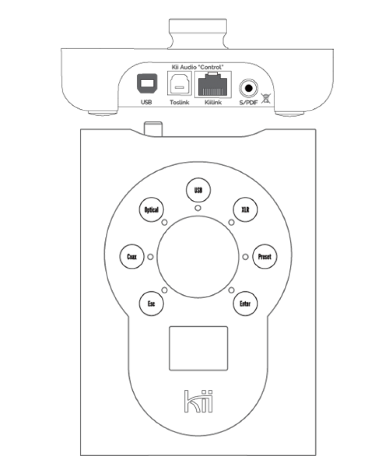 Kii CONTROL Digital Preamp - Alma Music and Audio - San Diego, California