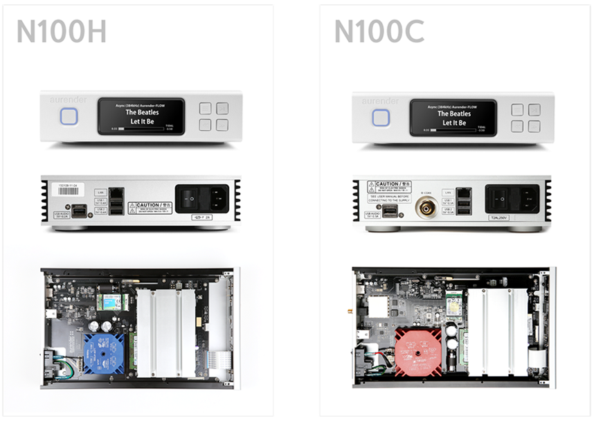 Aurender N100C Caching Network Streaming Server - Alma Music and Audio - San Diego, California