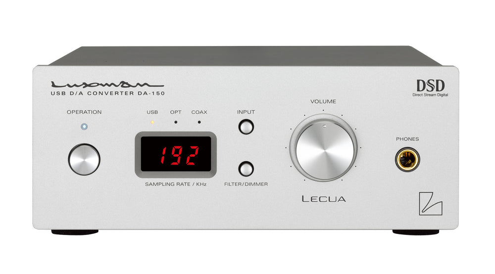 Luxman DA-150 USB DAC - Alma Music and Audio - San Diego, California