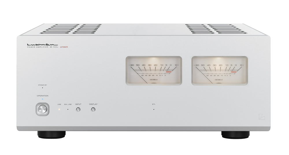 Luxman M-700u Power Amplifier - Alma Music and Audio - San Diego, California