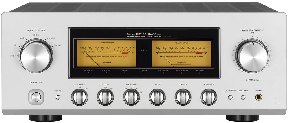 Luxman L-550AXII Class A Integrated Amplifier - Alma Music and Audio - San Diego, California