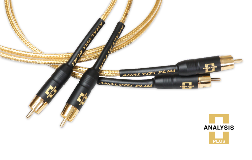 Analysis Plus MICRO Golden Oval Interconnect Cable - Alma Music and Audio - San Diego, California