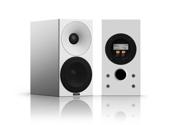 Amphion Helium 410 Desktop loudspeaker - Alma Music and Audio - San Diego, California