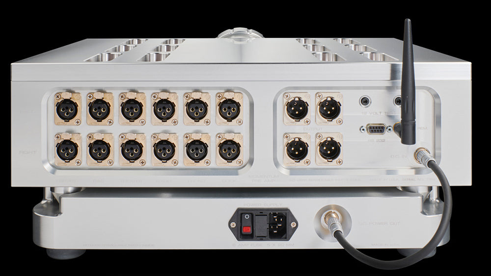 Dan D'Agostino Momentum HD Preamplifier - Alma Music and Audio - San Diego, California