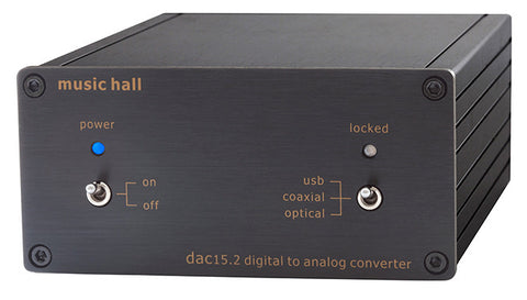 Music Hall dac15.2 DAC - Alma Music and Audio - San Diego, California