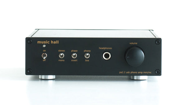 Music Hall pa2.2 Phono Amplifier - Alma Music and Audio - San Diego, California