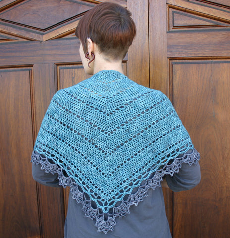 Belle Époque Shawl kit