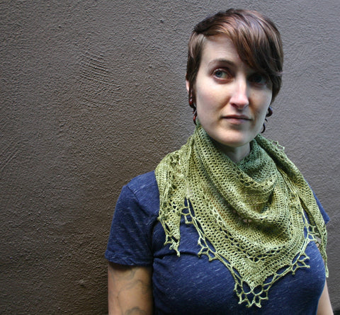 Fretwork Shawlette kit