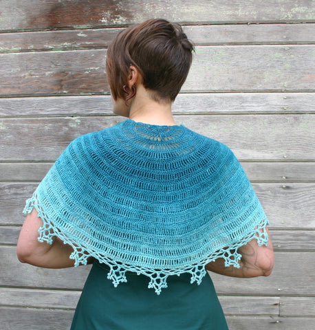 Ice Crystals Capelet kit