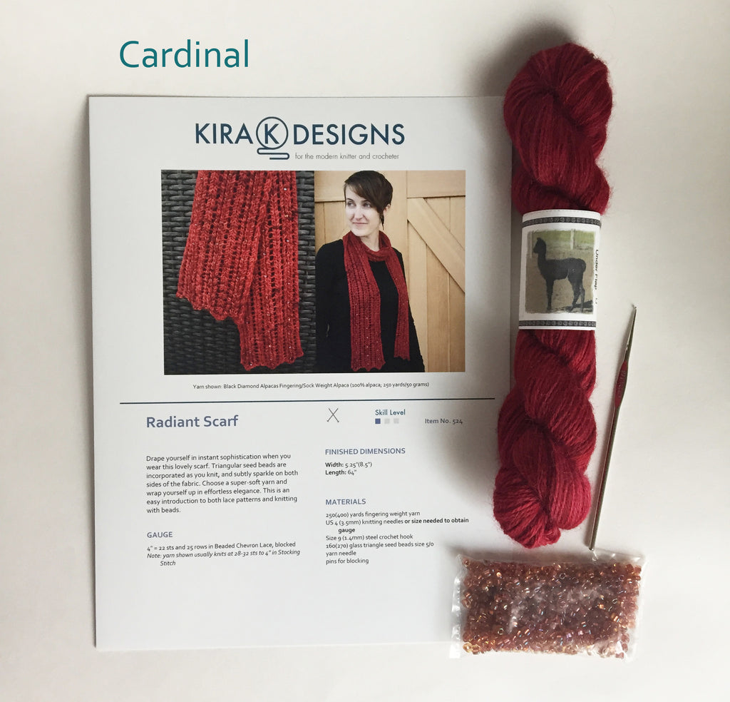 Radiant Scarf Kit Kira K Designs