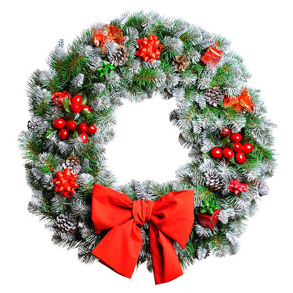 How to Decorate Your Holiday Wreath