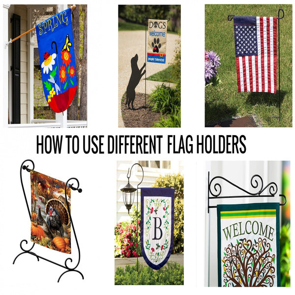 How To Use Different Flag Holders