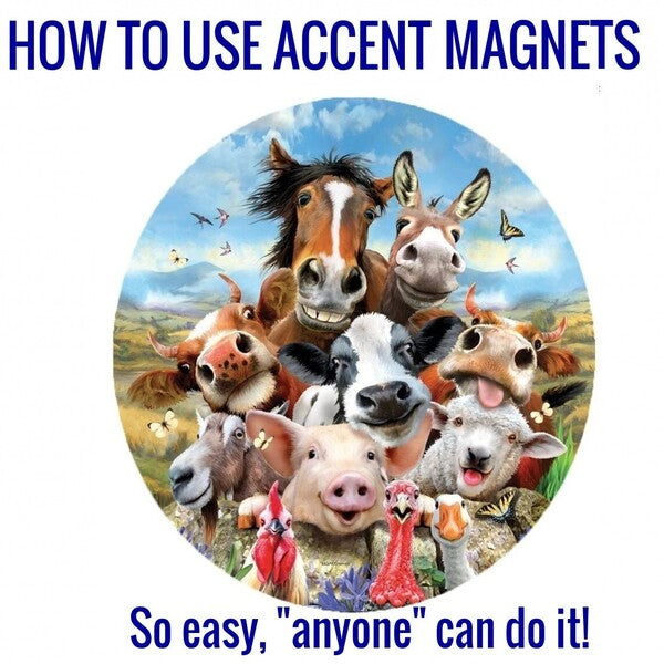 How To Use Accent Magnets