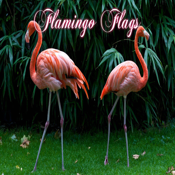 Flamingo Garden Flags