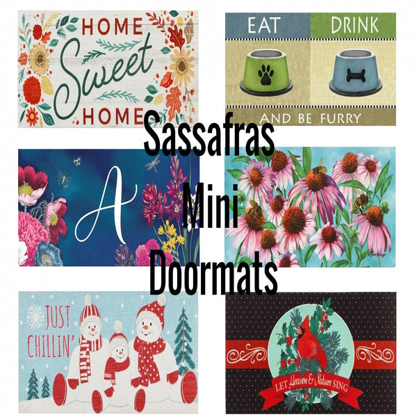 How to Install & Care for Sassafras Mini Doormats