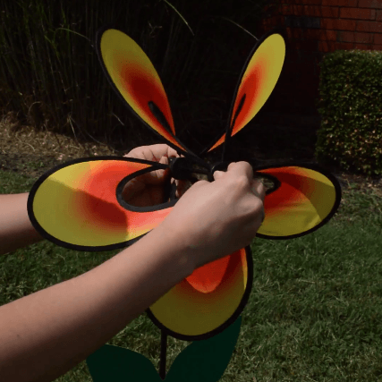 How to Install a Garden Spinner