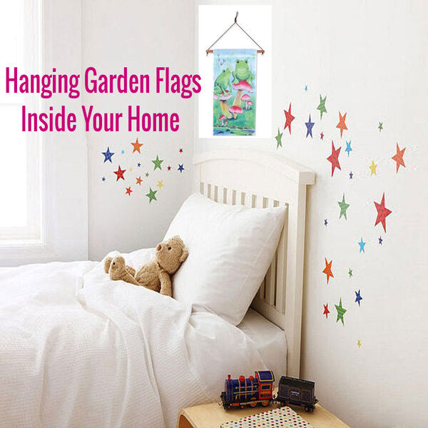 Hanging Garden Flags INSIDE Your Home