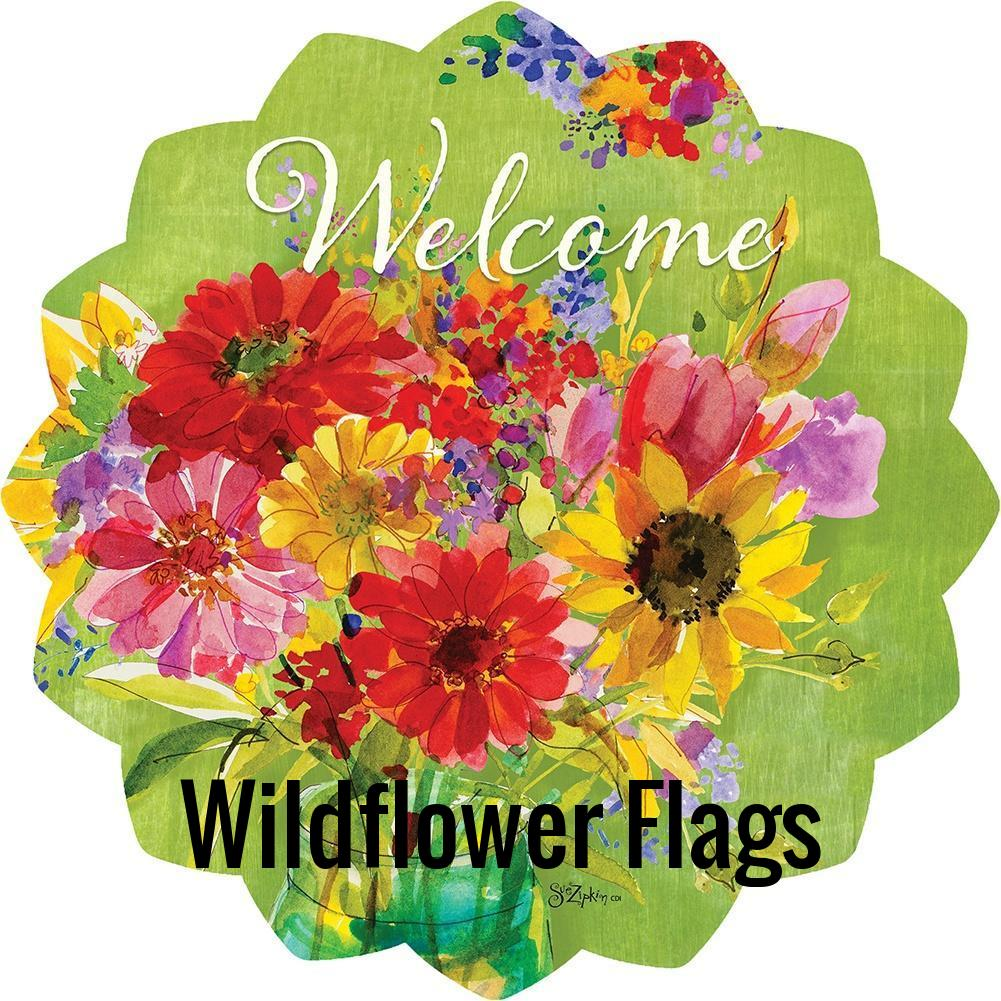 Favorite Wildflower Flags