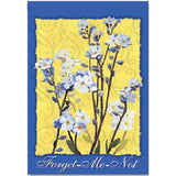 Forget Me Not House Flags