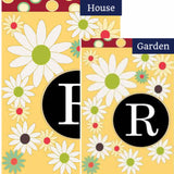 Letter R Monogram Flag Sets