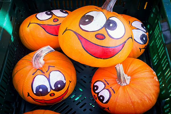 Pumpkin Decorating 101: Painted Pumpkins