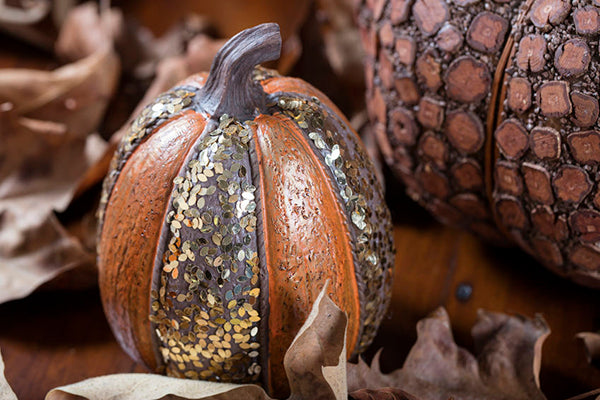 Pumpkin Decorating 101: Glitter Pumpkins