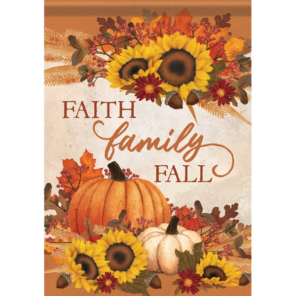 Family Fall Flag
