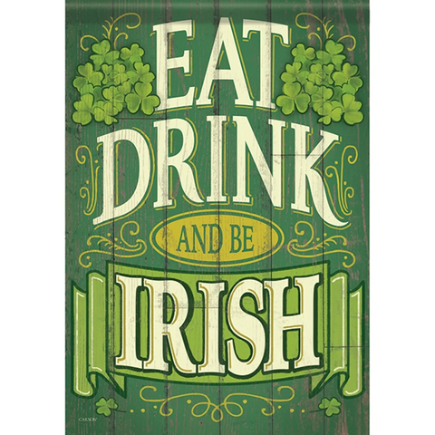 Be Irish Double Sided Garden Flag