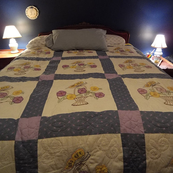 Butterfly Pansy Quilt