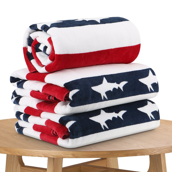 Flag Bathroom Towels