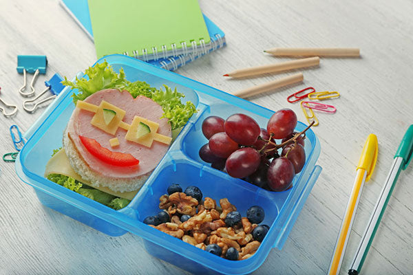 Divided lunch box