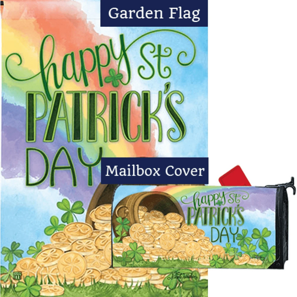 Pot of Gold Rainbow Flag Mailwrap Set