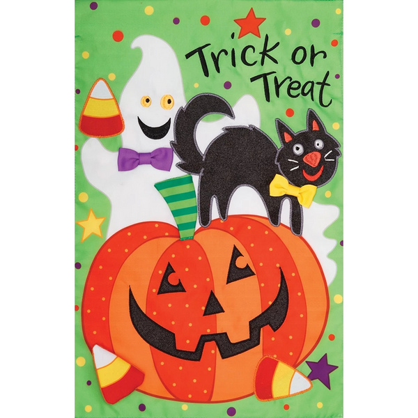 Trick or Treat Halloween Flag