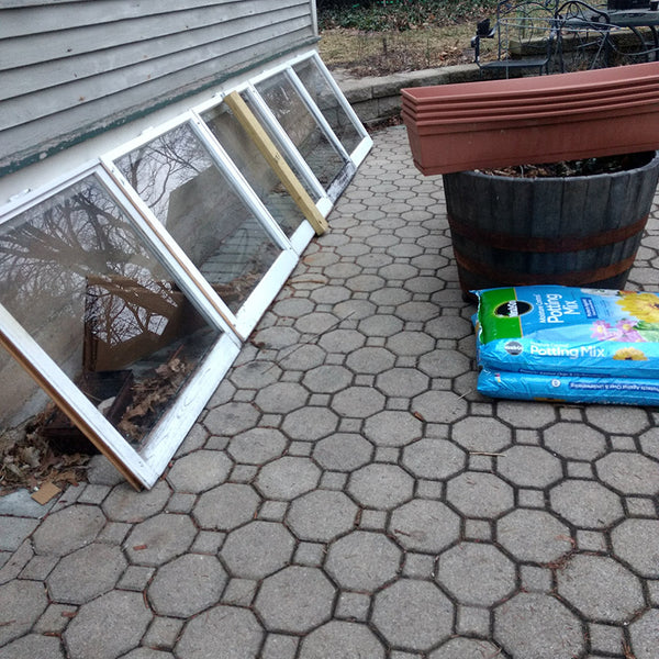 Do-It-Yourself Lean-To Greenhouse