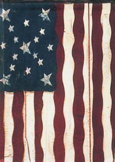 Freedoms Gate American House Flag