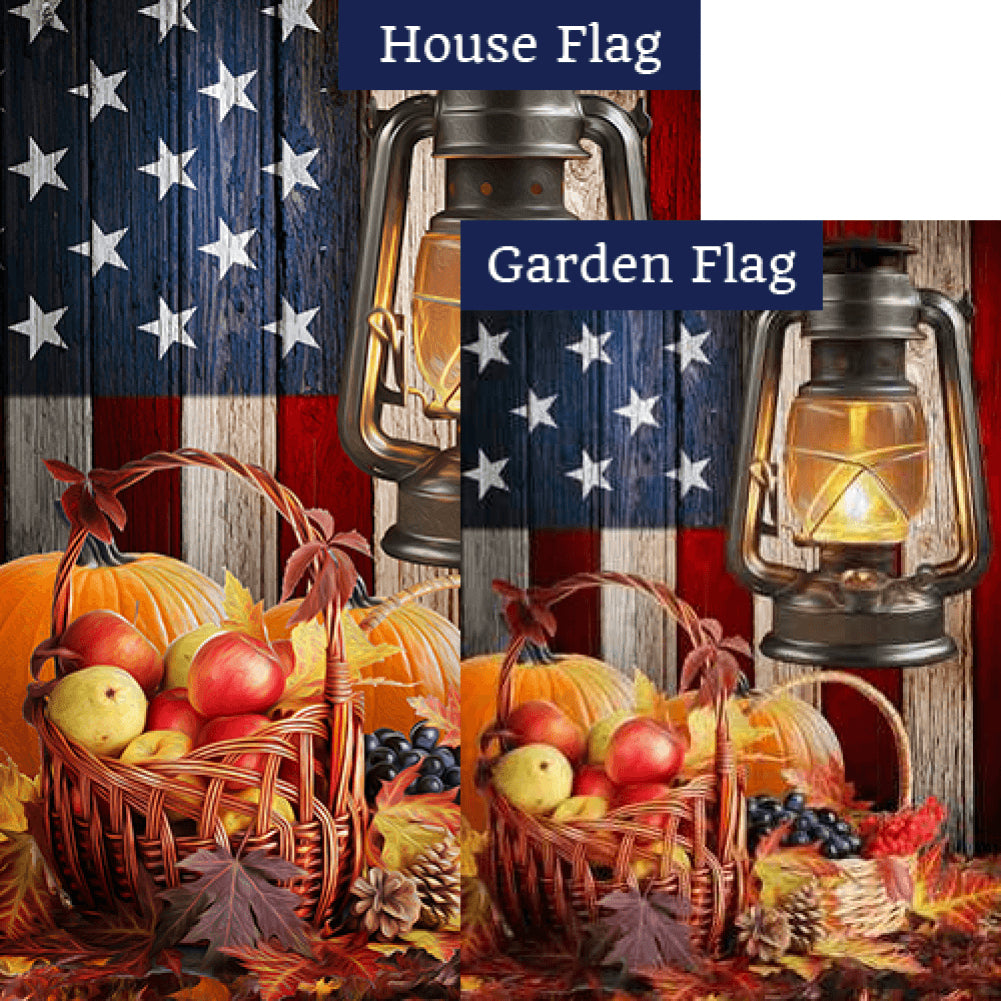 Harvest Glow Flags Set (2 Pieces)