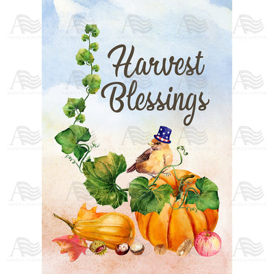 Small Blessings Double Sided Garden Flag