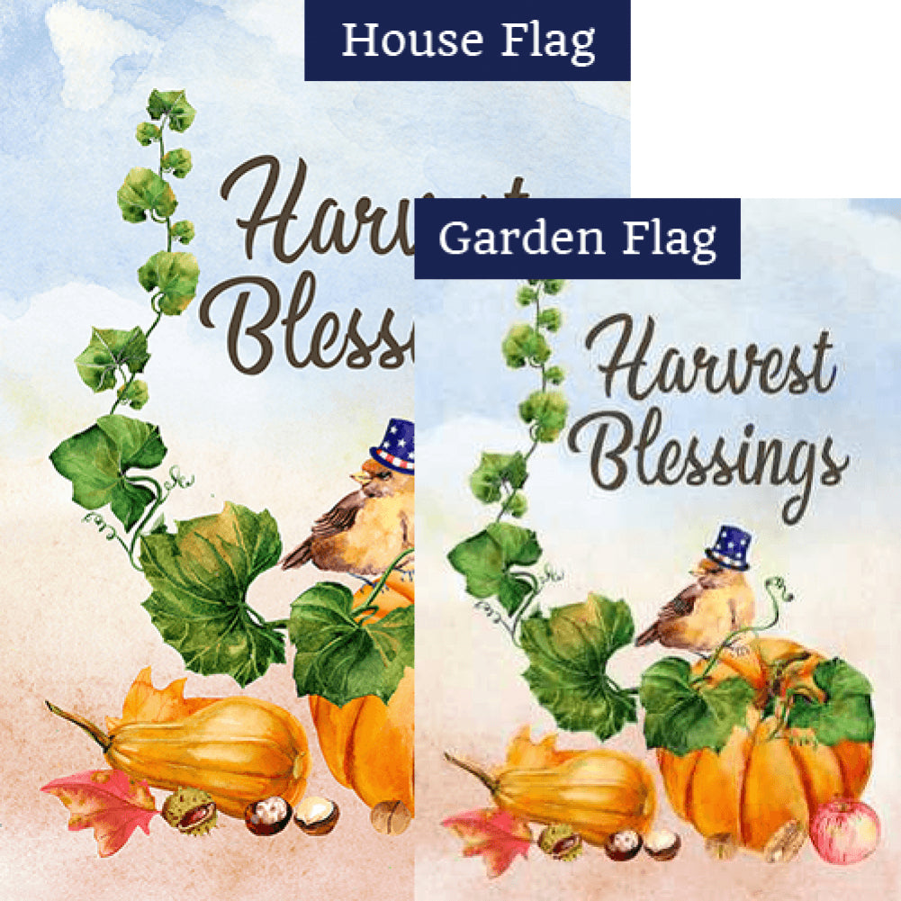 Small Blessings Flags Set (2 Pieces)