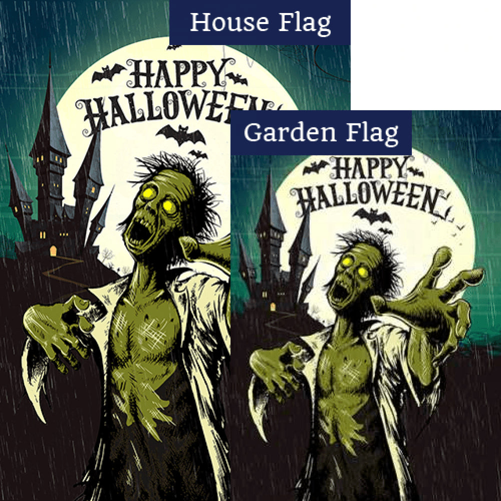 Green Zombie - Flags Set (2 Pieces)