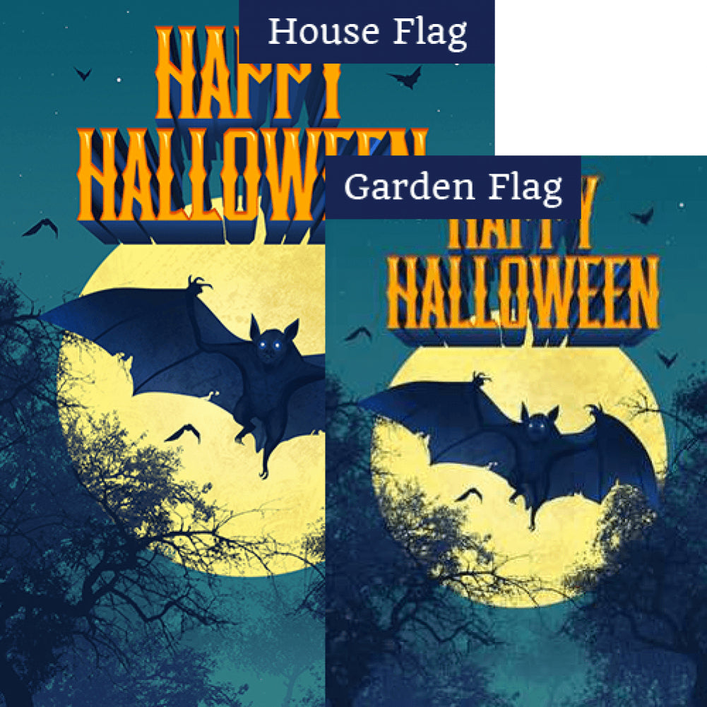 Dracula Takes Flight - Flags Set (2 Pieces)