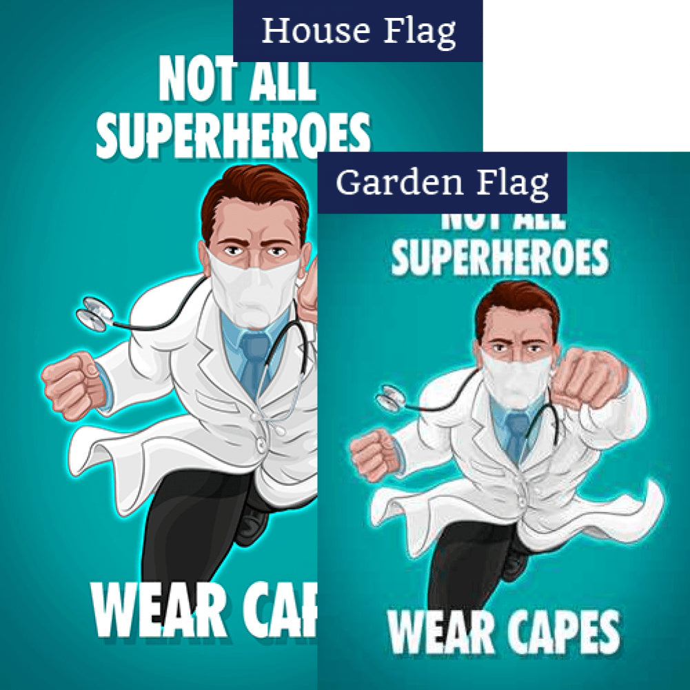 Capeless But Still Super! Flags Set (2 Pieces)