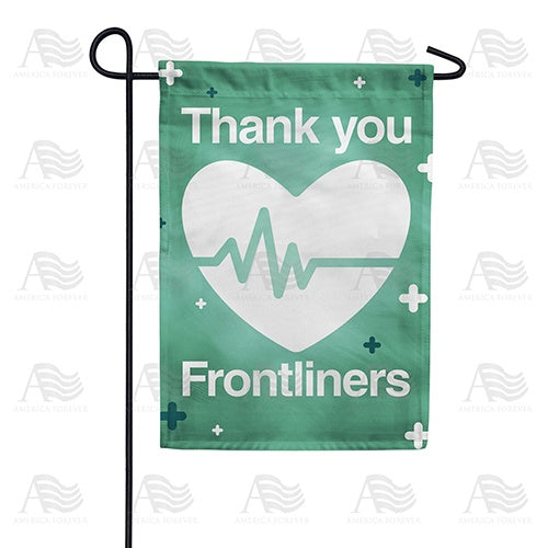 Thank You Frontliners Double Sided Garden Flag