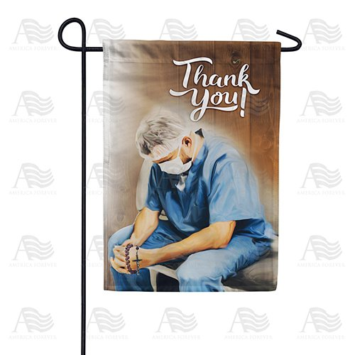 Praying For A Miracle Double Sided Garden Flag