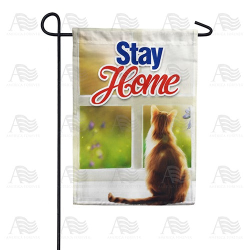 Lives - Cat 9, You ONLY 1 Double Sided Garden Flag