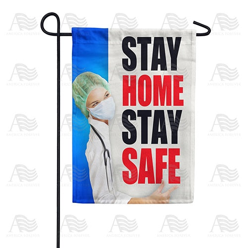 Spread The Word, Not The Virus Double Sided Garden Flag