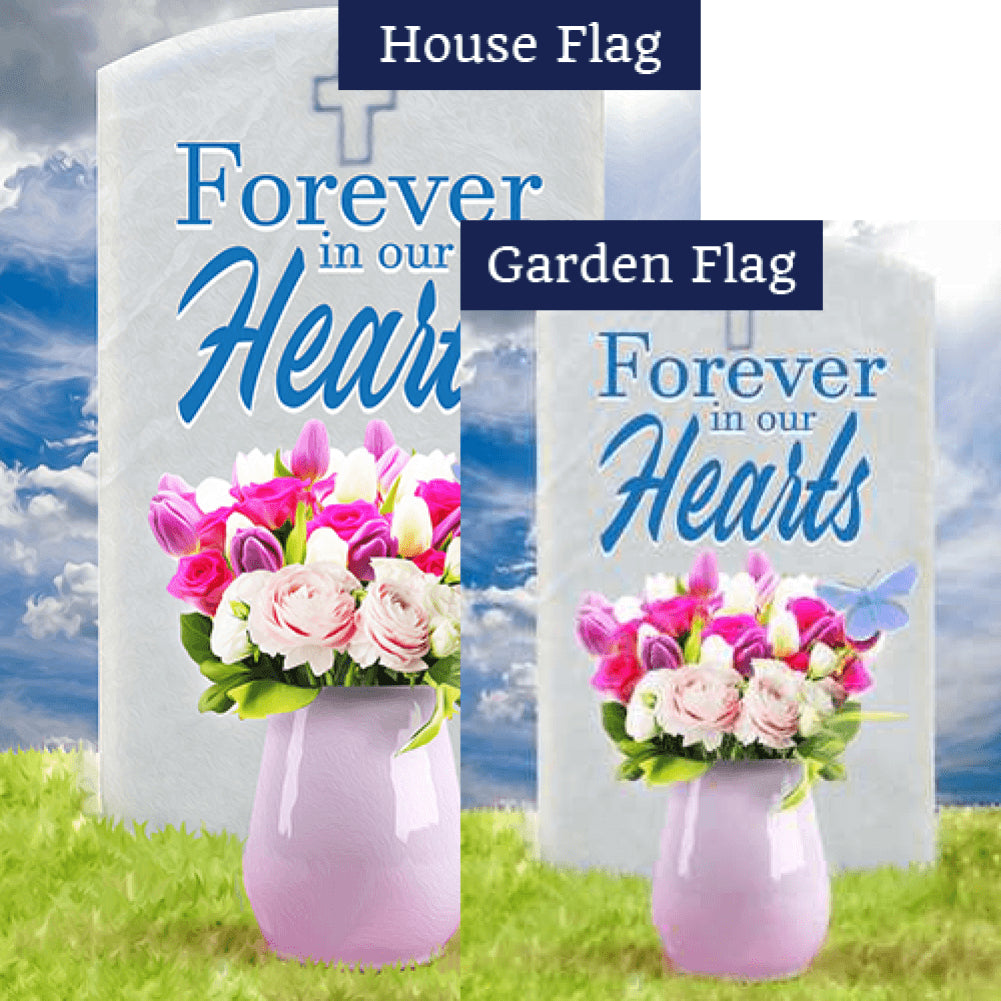 Gone But Never Forgotten Flags Set (2 Pieces)